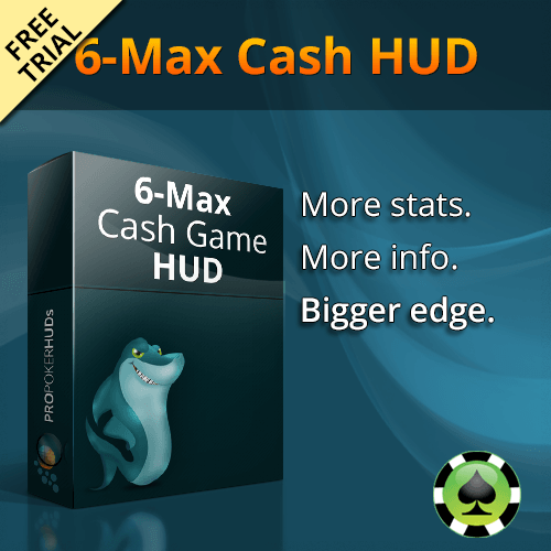 Six-Max Poker HUD Free Trial