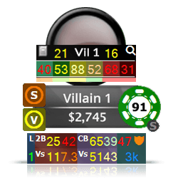 Tournament Poker Hud
