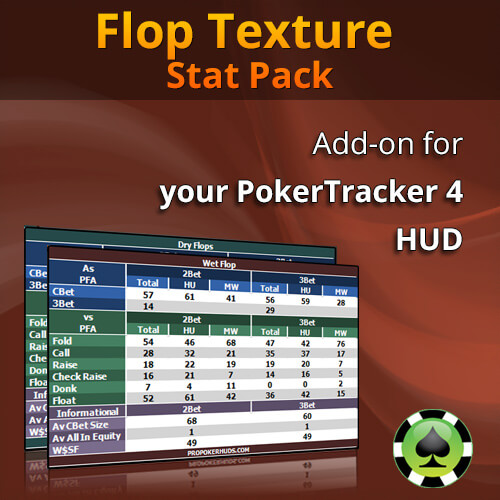 ProPokerHUDs - Flop Texture Stat Pack