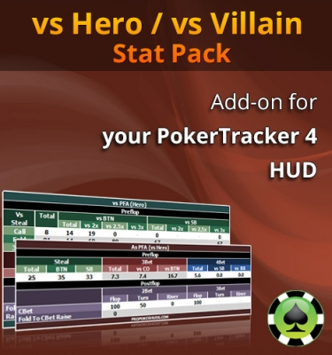 ProPokerHUDs - vs Hero / vs Villain Stat Pack