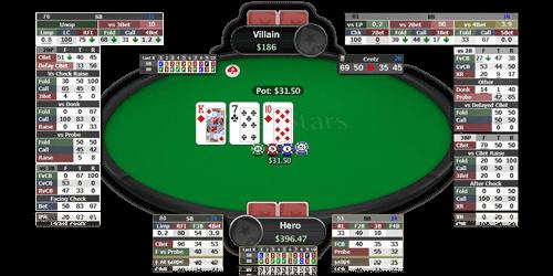 Heads-Up Poker HUD