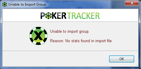 Unable to import group
